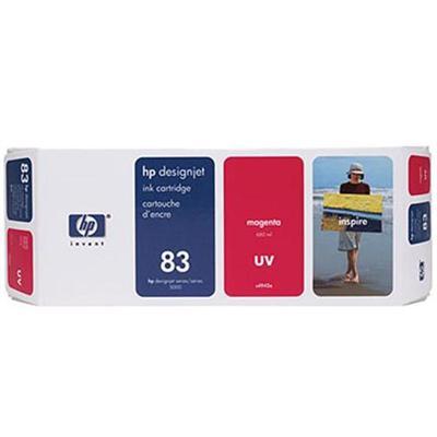 HP Inc. C4942A 83 680-ml Magenta UV Ink Cartridge