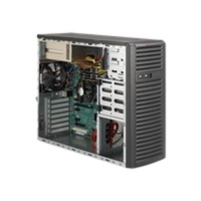 Super Micro CSE-732I-R500B Supermicro SC732 i-R500B - Mid tower - extended ATX 500 Watt ( PS/2 ) - black - USB