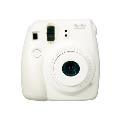Fujifilm 16273398 Instax Mini 8 - Instant camera - lens: 60 mm - white