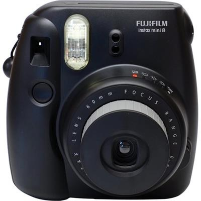 Fujifilm 16273403 Instax mini 8 Instant Film Camera - Black