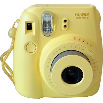 Fujifilm 16273441 Instax Mini 8 - Instant camera - lens: 60 mm - yellow