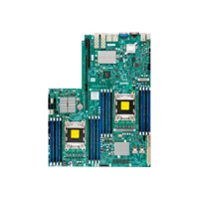 Super Micro MBD-X9DRW-7TPF-B SUPERMICRO X9DRW-7TPF - Motherboard - LGA2011 Socket - 2 CPUs supported - C602 - 2 x 10 Gigabit LAN  2 x Gigabit LAN - onboard grap