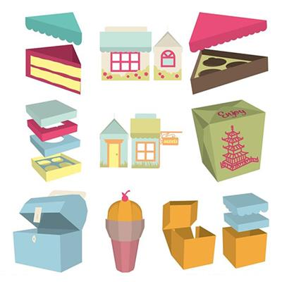 Provo Craft And Novelty 2001097 Cricut Projects Cartridge - Sweet Tooth Boxes