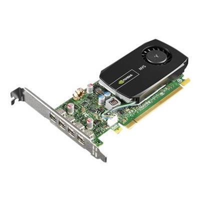 Lenovo 0B47077 NVIDIA NVS 510 - Graphics card - NVS 510 - 2 GB DDR3 - PCIe 2.0 x16 low profile - 4 x Mini DisplayPort - for ThinkCentre M73  M83  M92  M93  Thin