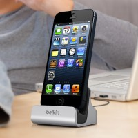 Belkin MIXIT Charge + Sync Dock with Lightning Cable Connector for iPhone 5, 5c, 5s, 6, 6 Plus and iPod touch 5th generation