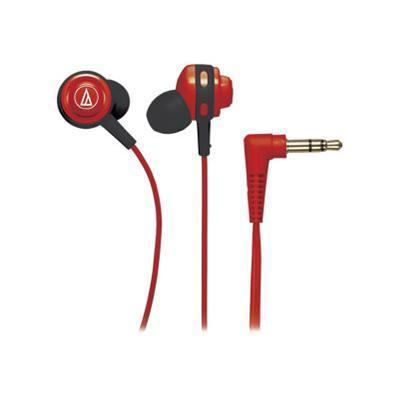 Audio - Technica Ath-cor150rd Ath Cor150 Core Bass - Earphones - In-ear - Red