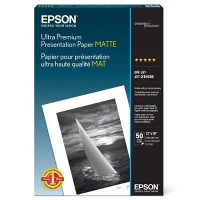 Epson S041339 13 x 19 Ultra Premium Presentation Paper Matte - 50 Sheets