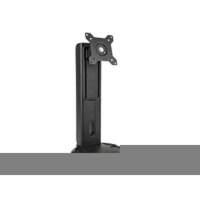 Planar 997-7029-00 Universal Height Adjust Stand - Stand for monitor ( Tilt & Swivel ) - black - screen size: 17-27