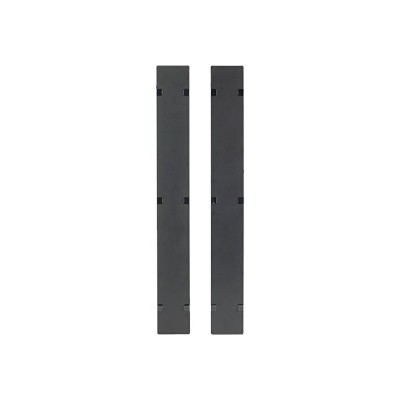 APC AR7581A Rack cable management panel cover - black - 42U (pack of 2)
