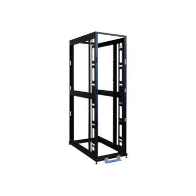 Tripplite Sr42ubexpndnr3 45u 4-post Open Frame Rack Cabinet Square Hole Heavy Duty Caster