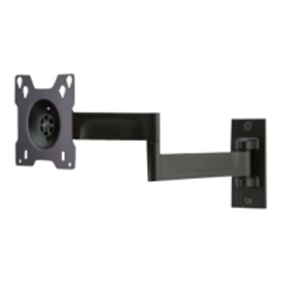 Peerless SAL724 SmartMountLT SAL724 - Mounting kit ( articulating arm ) for LCD display - black powder coat - screen size: 10-24 - wall-mountable