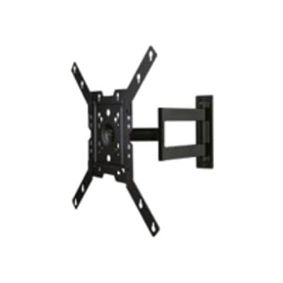 Peerless SAL746 SmartMountLT SAL746 - Mounting kit ( articulating arm ) for LCD / plasma panel - black powder coat - screen size: 22-46 - wall-mountable