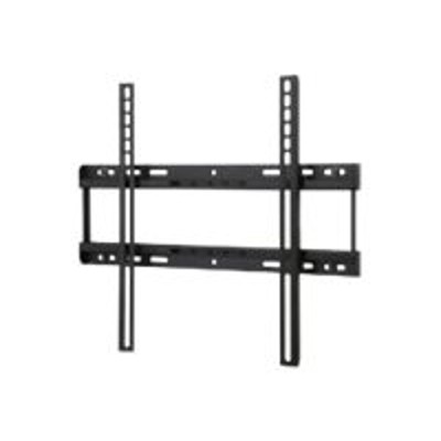 Peerless SFL646 SmartMount Universal Flat Wall Mount SFL646 - Wall mount for LCD display - matte  black powder coat - screen size: 32-50 - mounting interface: 4