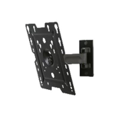 Peerless SPL737 SmartMountLT SPL737 - Mounting kit ( pivot arm ) for LCD display - black powder coat - screen size: 22-37 - wall-mountable