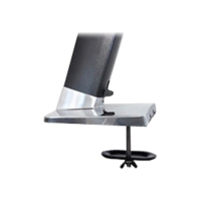 Ergotron 97-692 Grommet Mount for WorkFit-A - Mounting component - steel - black  polished aluminum