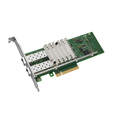 Intel E10G42BTDABLK Ethernet Converged Network Adapter X520-DA2 - Network adapter - PCIe 2.0 x8 low profile - 10Gb Ethernet x 2
