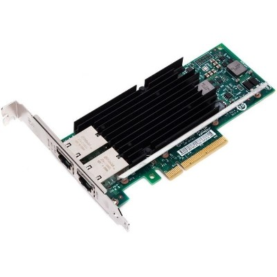 Intel X540T2BLK Ethernet Converged Network Adapter X540-T2 - Network adapter - PCIe 2.1 x8 low profile - 10Gb Ethernet x 2