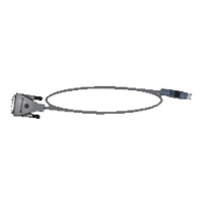 Polycom 2457-63542-001 Serial RS-232 cable - 8 pin mini-DIN to DB-9 - 10 ft