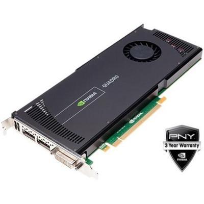 Pny Vcqk4000-pb Nvidia Quadro K4000 3gb Gddr5 Pciex16 Graphics Card