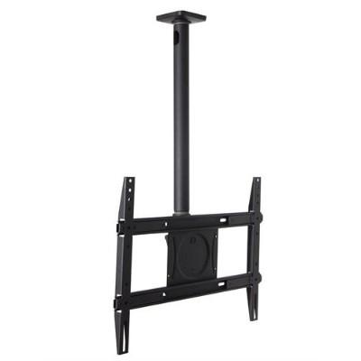 Ergotron 60-842-223 Neo-Flex Ceiling Mount - Mounting kit (ceiling plate  adapter plate  universal adaptor  bent pipe  tilt hanger) for plasma panel - black - s