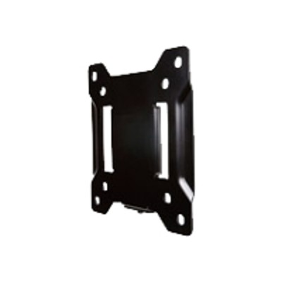 Omnimount Systems OS50F Fixed OS50F - Mounting kit ( wall plate  monitor plate  4 VESA adapters ) for LCD / plasma panel - durable black powder coat - screen si