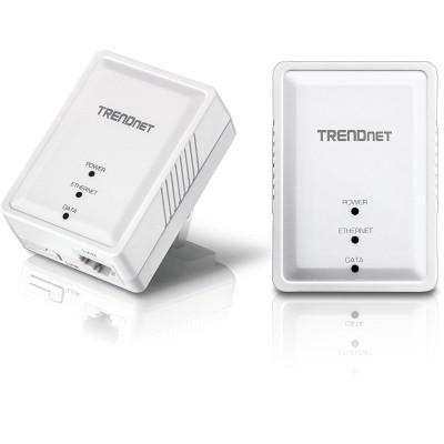 TRENDnet TPL-406E2K 500MBPS COMPACT POWERLINE AV ADPT KIT