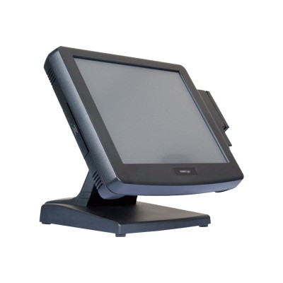 Posiflex Business Machines KS7215T21B1R7 Fan-Free KS7215 - All-in-one - 1 x Atom D525 / 1.8 GHz - RAM 2 GB - no HDD - GigE - Win Embedded POSReady 7 - monitor: