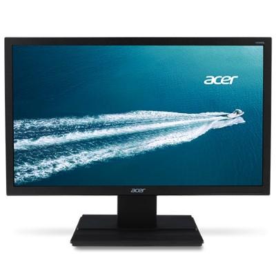 Acer UM.XV6AA.A01 V196HQLAb - LED monitor - 18.5 - 1366 x 768 - 200 cd/m² - 5 ms - VGA - black