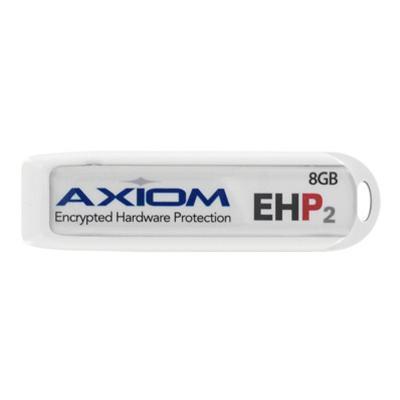 Axiom Memory USBEHP216GB-AX EHP2 USB Security Drive - USB flash drive - 16 GB - USB 2.0