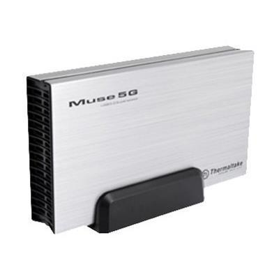 ThermalTake ST0042U Muse 5G - Storage enclosure - 3.5 - 5 GBps - USB 3.0 - silver