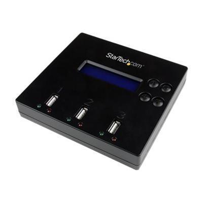 StarTech.com USBDUP12 1:2 Standalone USB 2.0 Flash Drive Duplicator and Eraser - USB drive duplicator - 2 bays