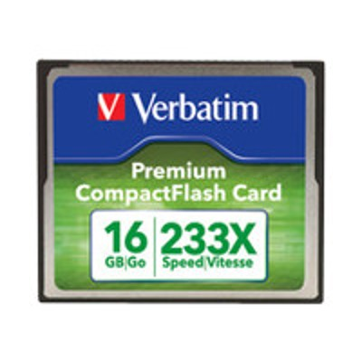 Verbatim 97982 Premium - Flash memory card - 16 GB - 60x/66x - CompactFlash