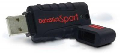 Centon S1-U2W1-16G MP Essential Datastick Sport - USB flash drive - 16 GB - USB 2.0 - black
