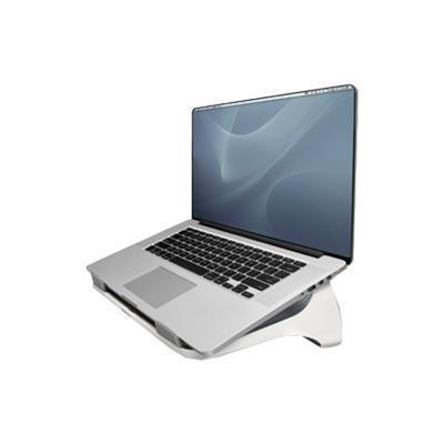 Fellowes 9311201 I-Spire Series Laptop Lift - Notebook stand - 17 - gray white