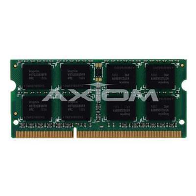 Axiom Memory 0A65722-AX AX - DDR3 - 2 GB - SO-DIMM 204-pin - 1600 MHz / PC3-12800 - unbuffered - non-ECC - for Lenovo B590  ThinkCentre M93  ThinkPad Edge E43X