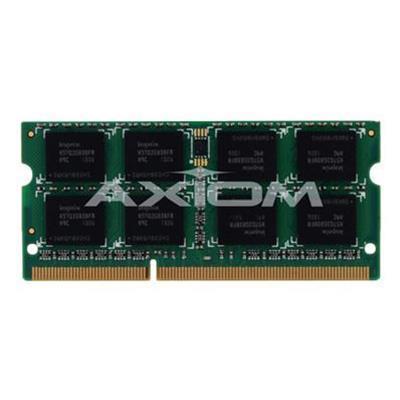 Axiom Memory AXG27693524/2 DDR3 - 8 GB: 2 x 4 GB - SO-DIMM 204-pin - 1600 MHz / PC3-12800 - unbuffered - non-ECC
