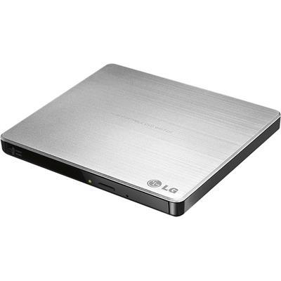 LG Electronics GP60NS50 Super Multi-Portable  8x USB 2.0 External DVD+/-RW Drive/Writer - Silver