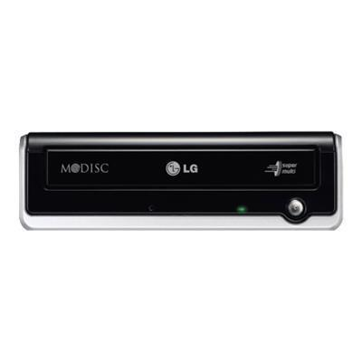 LG Electronics GE24NU40 GE24NU Super Multi - Disk drive - DVD±RW (±R DL) / DVD-RAM - 24x/24x/12x - USB 2.0 - external - black
