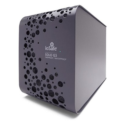 ioSafe SK3TB-MAC 3TB Solo G3 for Macintosh Fireproof Waterproof Desktop External Hard Drive - USB 3.0