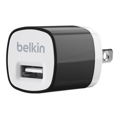 Belkin F8J017TTBLK MIXIT USB Home Charger (1A  5W)  Black