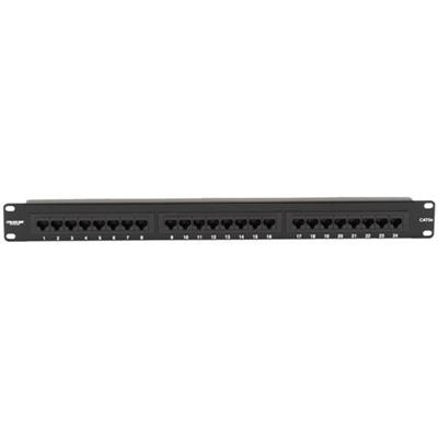 Black Box JPM111A-R5 CAT5e Econo - Patch panel - 1U - 24 ports