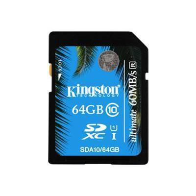 Kingston Digital SDA10/64GB 16GB SDHC Class 10 UHS-I Ultimate Memory Card