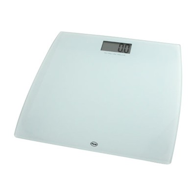 American Weigh Scales 330LPW WT AWS 330LPW Bathroom scales white