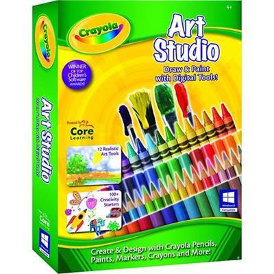 Core Learning CRAS 1200 ESD PC Crayola Art Studio