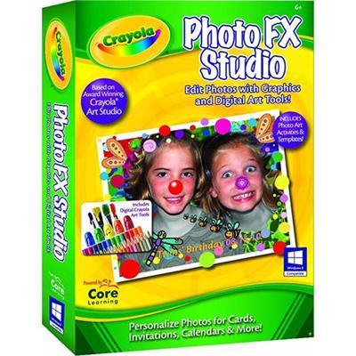 Core Learning CRPF 1030 ESD Crayola PhotoFX Studio