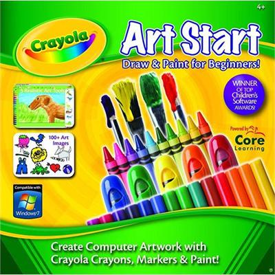 Core Learning CRST 1010 ESD Crayola Art Start License ESD Win