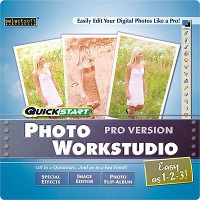 SelectSoft Publishing LQPHOWORPJ ESD Quickstart Photo Workstudio Pro