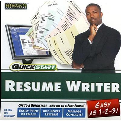 SelectSoft Publishing LQRESWRITJ ESD Quickstart Resume Writer