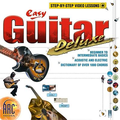 SelectSoft Publishing LXEASGUDEJ ESD Easy Guitar Deluxe