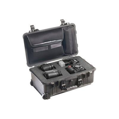 Pelican Products 1510-008-110 1510LFC - Case for camera and lenses - high-impact polycarbonate - black
